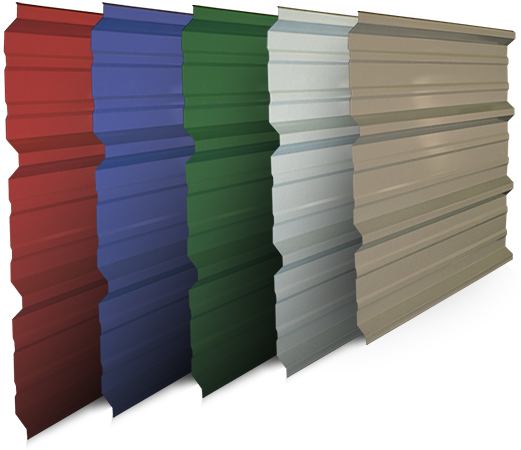 A Variety Of Valspar Coating Options And Colors To Compliment Any Home Or  Building. You Pick The Panel U0026 Color, Weu0027ll Do The Rest!